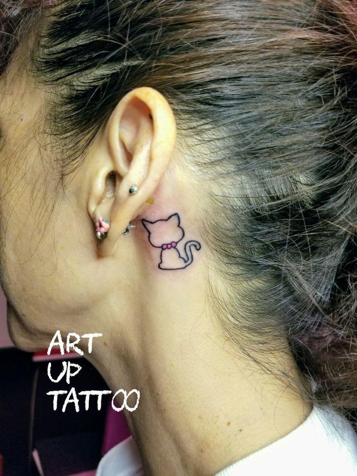 #tattoo #tattoos #tattooart #tattooartist #tattooshop #ink #art #bodyart #ear #cat #タトゥー #タトゥースタジオ #インク #アート #ボディアート #アートアップタトゥー #耳裏タトゥー #ネコ #持ち込みデザイン #東京タトゥー #日野タトゥー #祐 #女性 #女性彫師