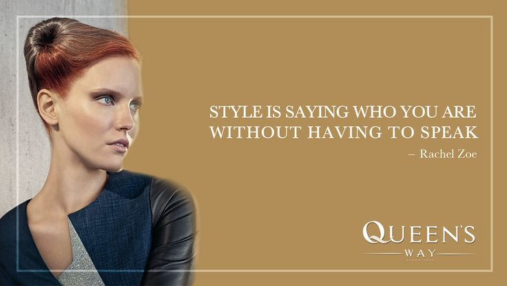 Style is saying who you are without having to speak_Rachel Zoe
