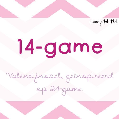Juf-Stuff: Valentijn 14-game