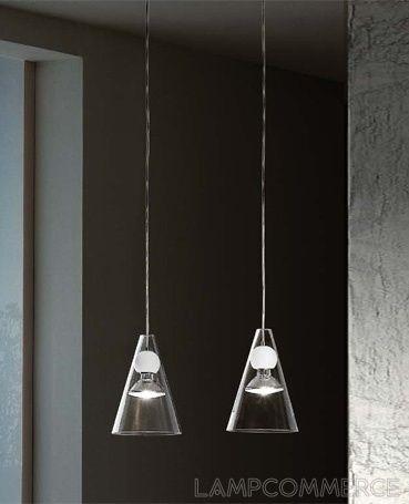 De Majo #Gemma S2D decentralized hanging lamp Design Giovanni Barbato