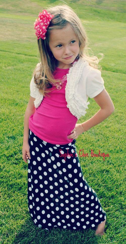 Top 10 best Girls Maxi Skirts images on Pinterest | Chevron maxi  OE22