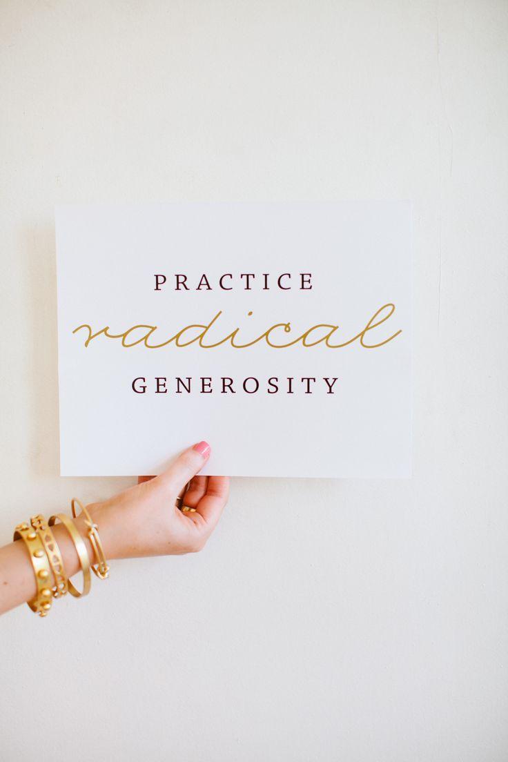 Practice Radical Generosity   Sseko Designs #FallCollection #EmpowerWomen #SmallSteps