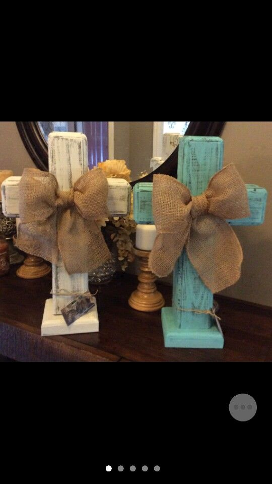 On Etsy at M&LOldRuggedCrosses,  rustic wood standing crosses