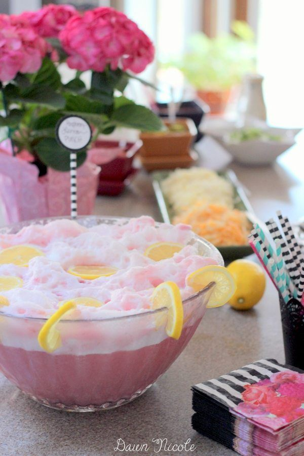 Soda-Free Pink Party Punch (by Dawn Nicole)