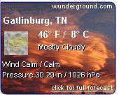 Gatlinburg Weather Forecast - Gatlinburg Climate - Gatlinburg TN