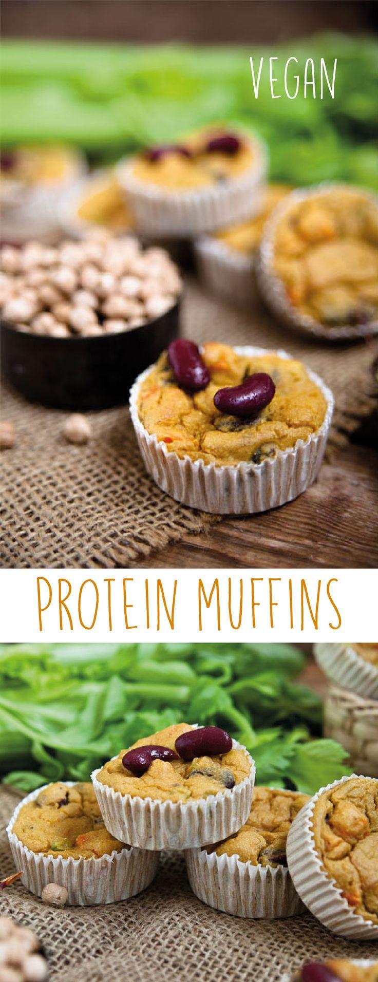 Protein Muffins vegan