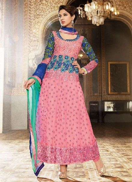 This is the image gallery of Pakistani Shalwar Kameez Collection 2014 for Girls. You are currently viewing Resham Enhanced Pink Designer Shalwar Kameez Pakistani Suits. All other images from this gallery are given below. Give your comments in comments section about this. Also share stylehoster.com with your friends.  #shalwarkameez, #pakistanisalwarkameez, #pakistanifashion, #pakistanclothing