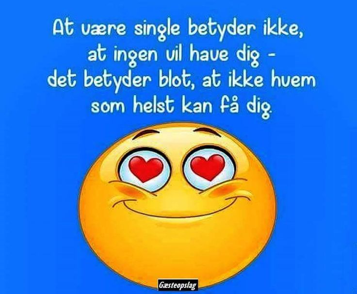 At være single