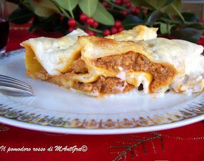 Il Pomodoro Rosso di MAntGra: Cannelloni ripieni di carne e funghi