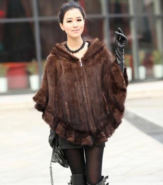 2015 Knitted Genuine Mink Fur Shawl Wrap women mink fur coat winter mink fur jacket EMS free shipping customized big size F138 US $154.96-196.56 /piece To Buy Or See Another Product Click On This Link  http://goo.gl/IdJFhm