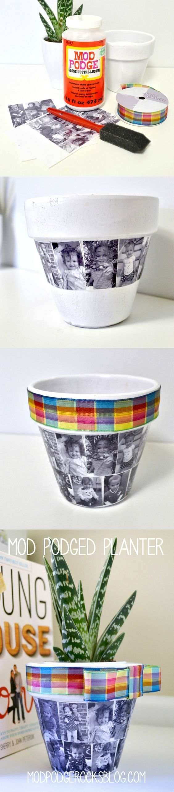 Best 25 diy mothers day gift for grandma ideas on pinterest diy flower pot perfect for mothers day negle Image collections