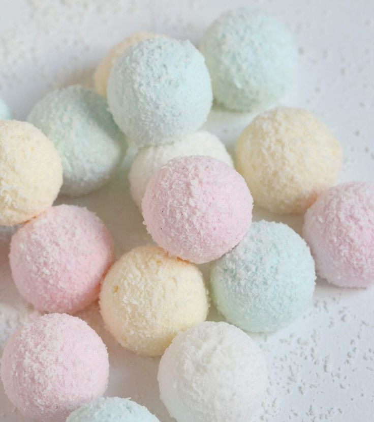 When it comes to Candy there is two candy I love the most salt licorice candy and marshmallows; my favorite marshmallow is homemade and is rolled into shredded coconut, the combination of coconut and marshmallow is just so fluffy and delicious. These are fun to make and so pretty for any party if you make