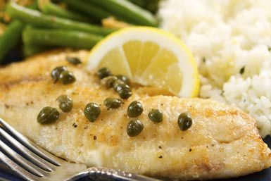 Tilapia With a Lemon Caper Sauce (Piccata) Recipe