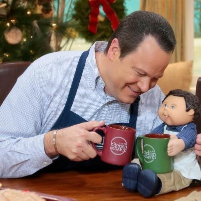 QVC David Venable and his mini-me!