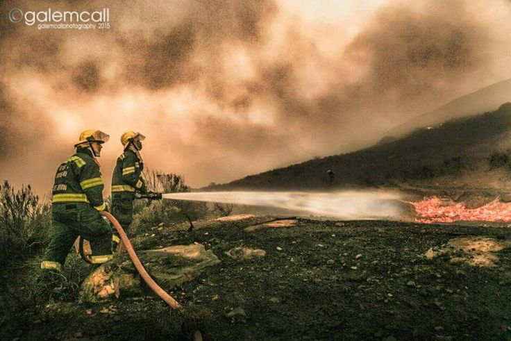Firemen at work #galemcall photography