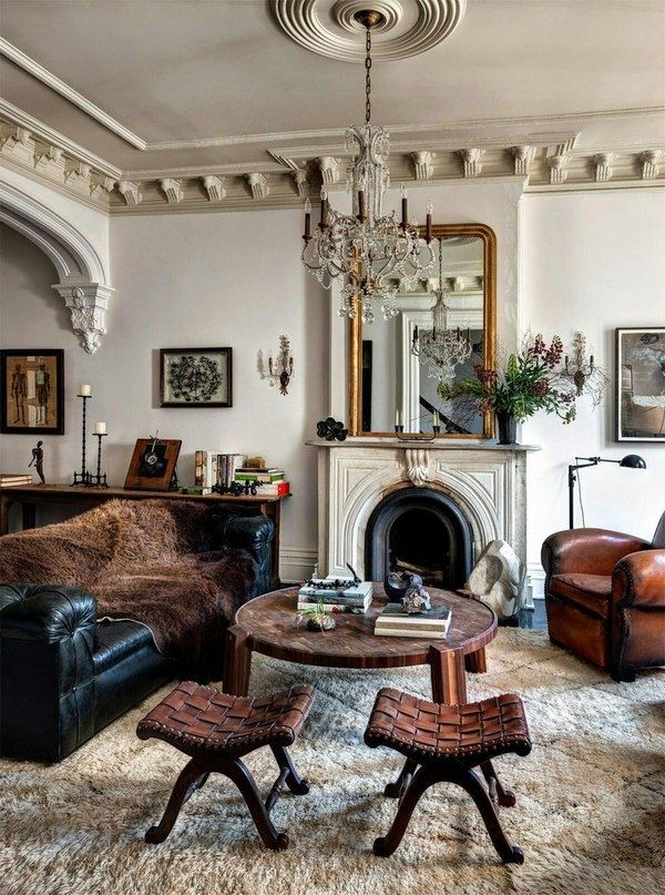 Винтажный и эклектичный особняк в Бруклине - Дизайн интерьеров | Идеи вашего дома | Lodgers