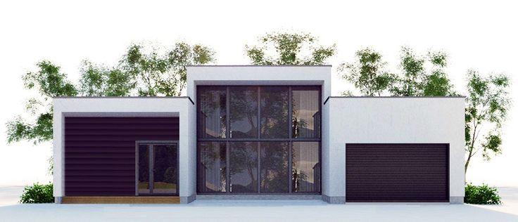 Modern  Plan #CH393...1,970 Sq. ft., 3 beds, 2 baths, 1 car, 1 floor.