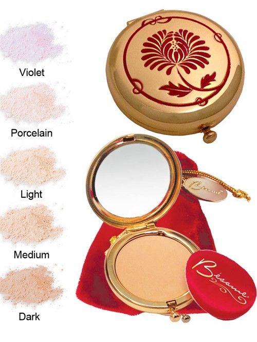 Besame Cosmetics - Signature Compact- Medium (vegan)