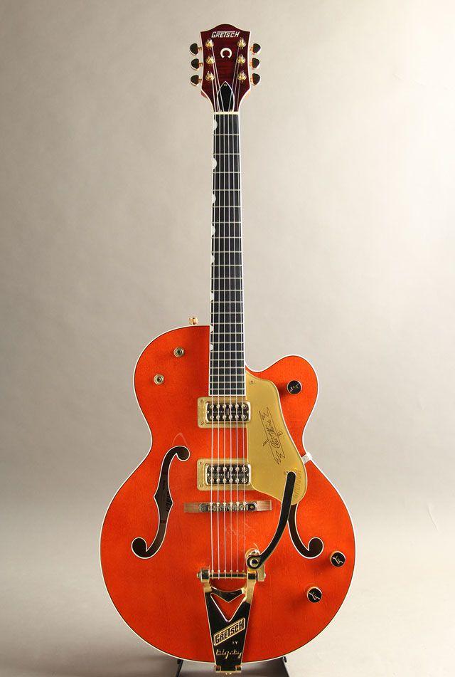 GRETSCH[グレッチ] G6120 Chet Atkins Hollow Body Orange Stain 2014|詳細写真