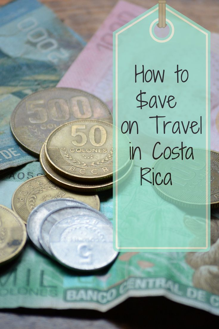 10 Practical Tips for Saving Money on Your Next Vacation to Costa Rica. More at: http://www.twoweeksincostarica.com/how-to-save-on-travel-in-costa-rica/ #CostaRica #traveltips