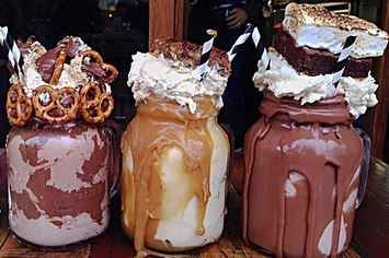 Everyone Is Losing Their Minds Over This Canberra Cafe's Insane Milkshakes If ever I go to Australia, I will be visiting this place