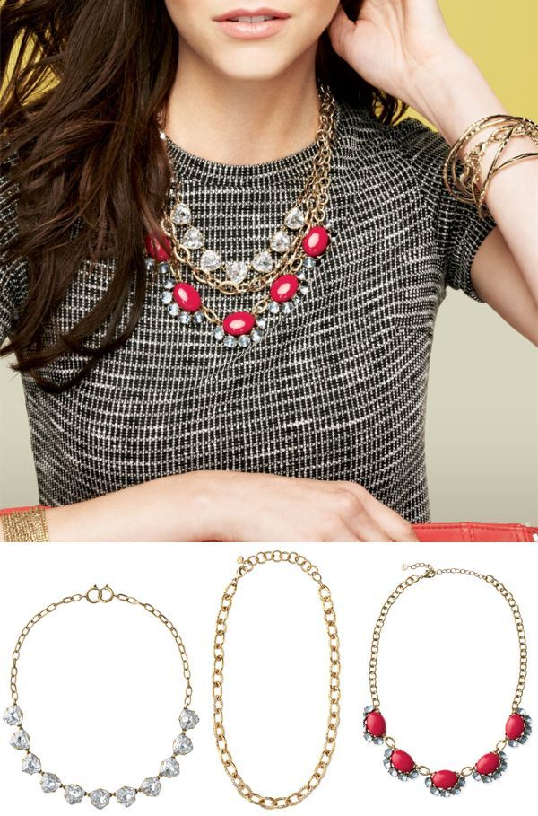 New Stella & Dot!! Wear these 3 necklaces together or separate, either way, LOVE them! #stelladotstyle #stelladot