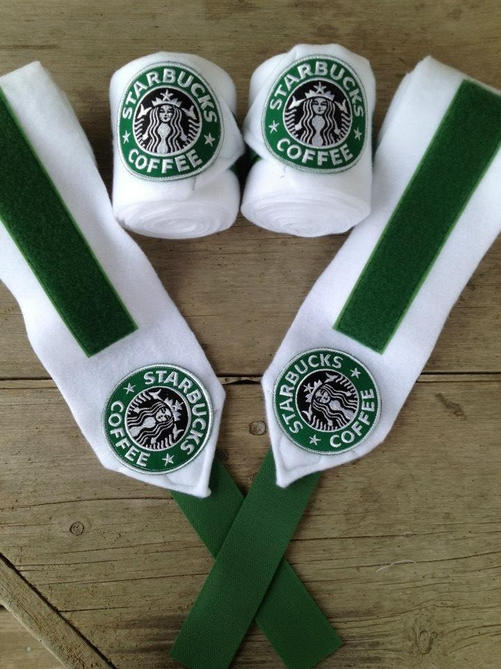 Starbucks Polo Wraps. Not sure why I would want them, but why not?