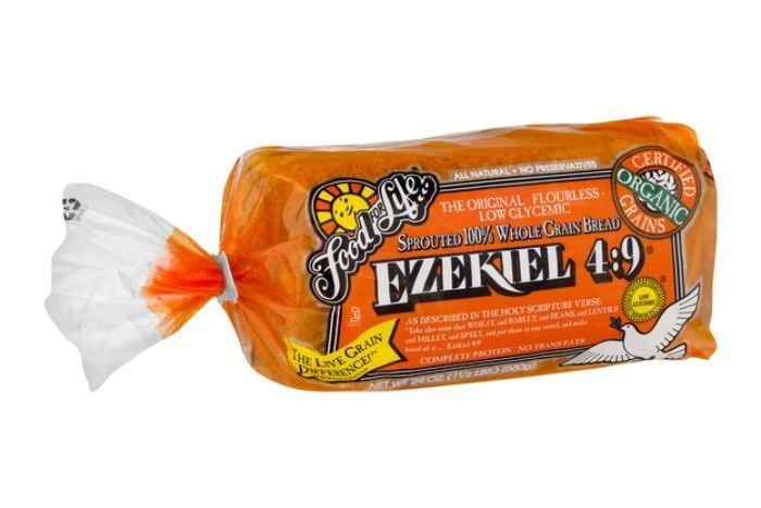 Food For Life Ezekiel 4 9 Sprouted 100 Whole Grain Bread Sprouted Grain Bread Whole Grain Bread Daniel Fast