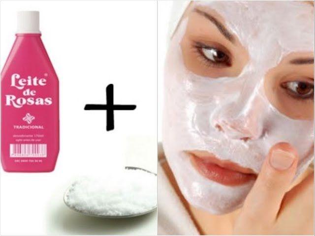 Limpeza de pele poderosa: leite de rosas com bicarbonato Veja como como fazer limpeza de pele poderosa com uma mistura do tempo da sua avó: leite de rosas com bicarbonato! Jamais devemos nos descuidar da nossa pele, especialmente a do rosto. A fal...