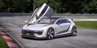 VW Golf GTE Sport Concept  #VW #GolfGTESport