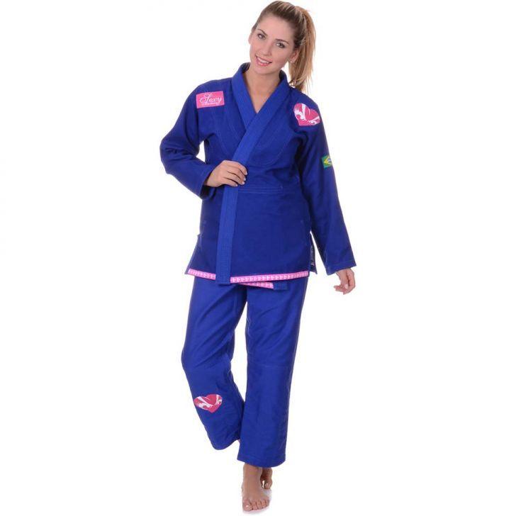 Kimono de Jiu-Jitsu Sexy Machine - Azul | Kanui