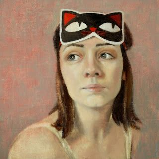 The Kitten by Jane Gardiner at http://glasgowpainter.blogspot.co.uk/2014/12/review-2014.html