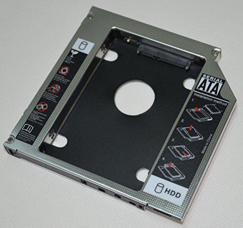 DY-tech 2nd Hard Drive HDD SSD SATA Caddy For Toshiba Satellite L800 L850D L855 L855D L855d-s5242