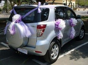 car decoration for wedding in pakistan