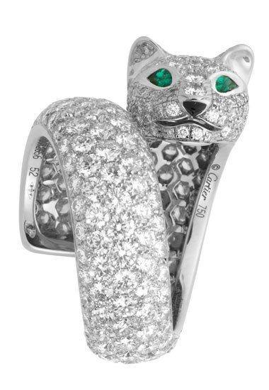 Anello pantera di Cartier  - Anelli con animali: preziosa selezione di anelli a forma di animali