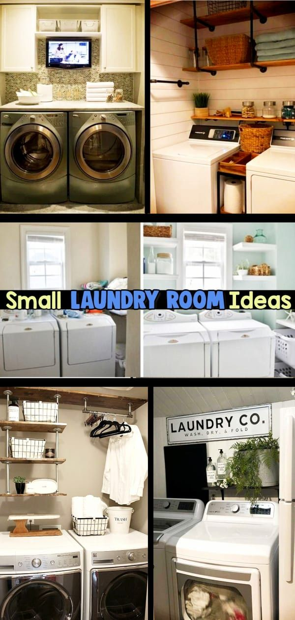 Small Laundry Room Ideas Space Saving Ideas For Tiny Laundry Rooms Creative And Simple Diy In 2020 Small Laundry Rooms Laundry Room Ideas Small Space Small Laundry Room Makeover