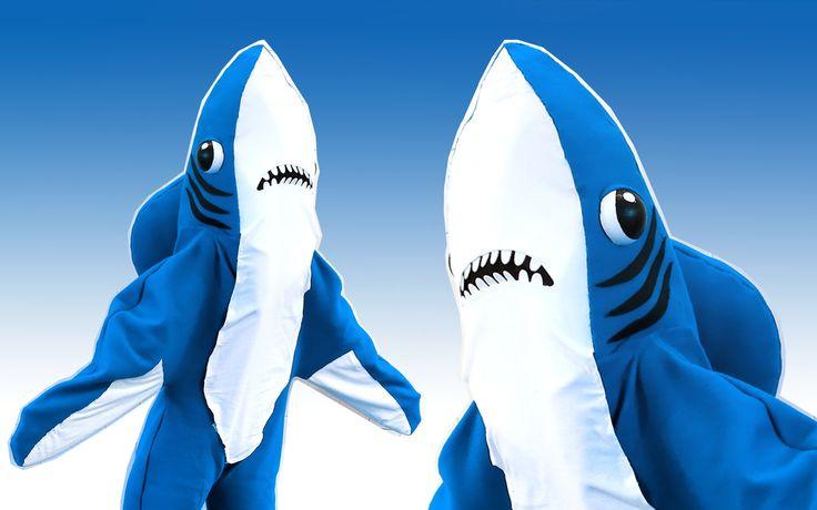 Best 25+ Shark Costumes Ideas On Pinterest