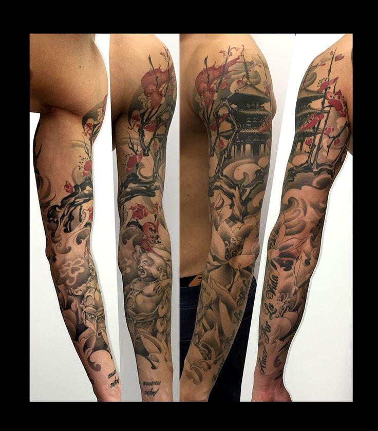 55 New Style Buddha Tattoo On Full Sleeve: Top 66 Ideas About TATTOO Magu★Gallery On Pinterest