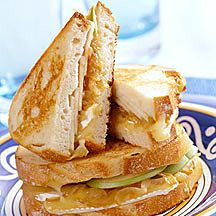 Sandwich met brie en appel Recept | Weight Watchers België