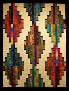 simply southwest quilt pattern | Long Tall - Southwest Bali Batiks
