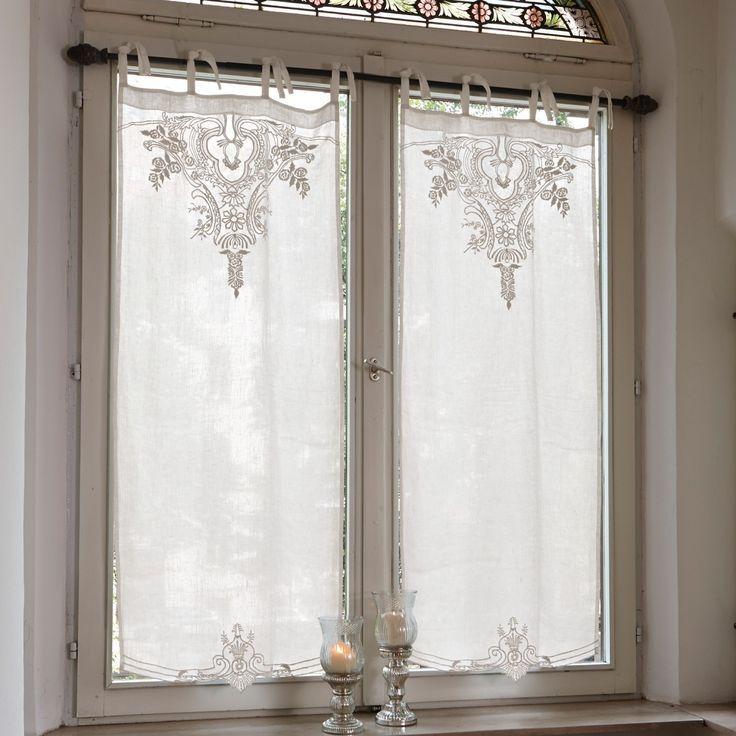 Scheibengardine Gardonne Gesehen Auf Loberon De 2019 Scheibengardine Gardonne Gesehen Auf Loberon De Colorful Curtains White Lace Curtains Lace Curtains