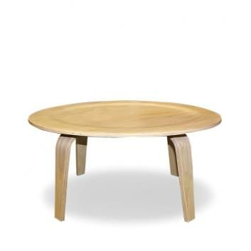 EAMES PLYWOOD COFFEE TABLE LIGHT ASH VSTGLKCTS152