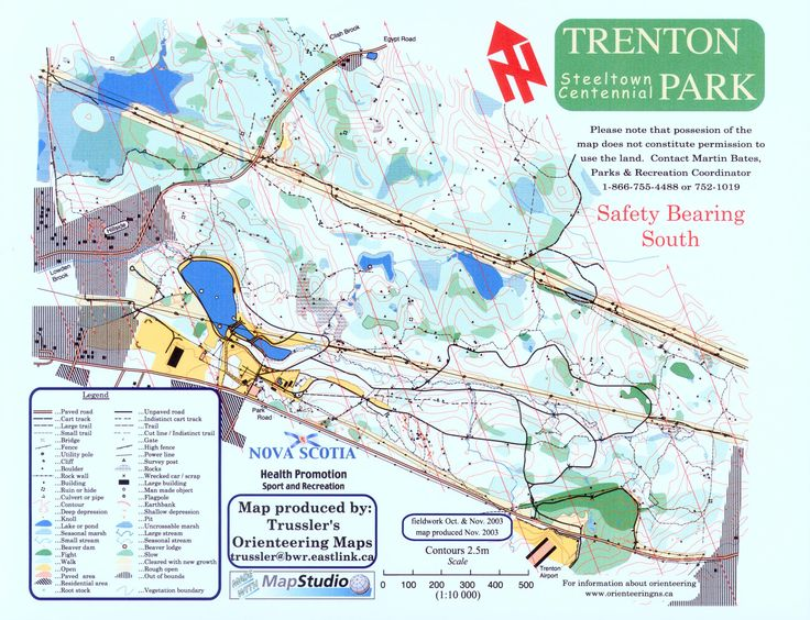 map of Trenton Park