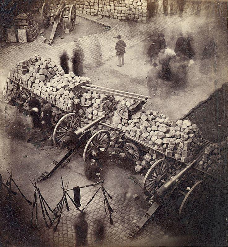Barricade Paris 1871