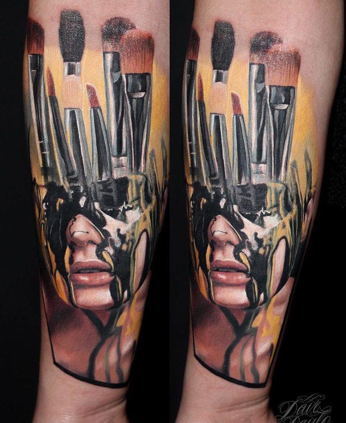 Makeup Artist's Tattoo