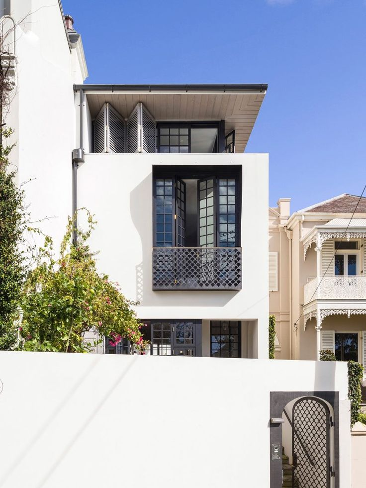 Modern Row House Inspired By Its Neighbouring Victorian Terraced Houses    IDesignArch   Interior Design,