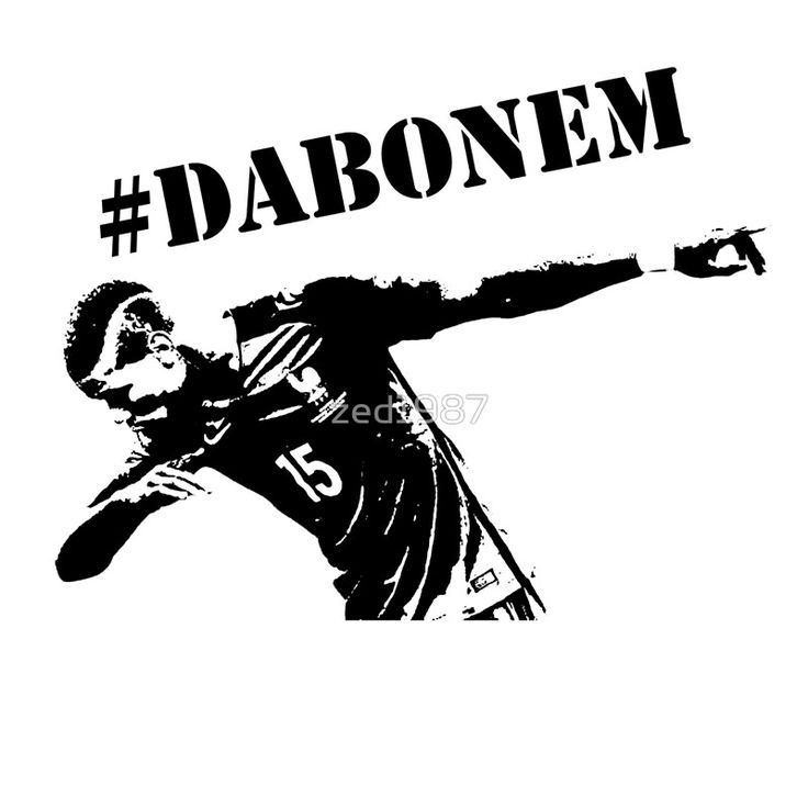 Paul Pogba – Dab – #Dabonem / Football Icons. Your Sporting icons designed and immortalized on tops, cases, posters and more. / INSTAGRAM!! Make sure you check us out on Instagram! / We are currently producing designs for: / * NFL Stars / * Soccer Stars / And many more updated daily!! • Buy this artwork on apparel, stickers, phone cases, and more.