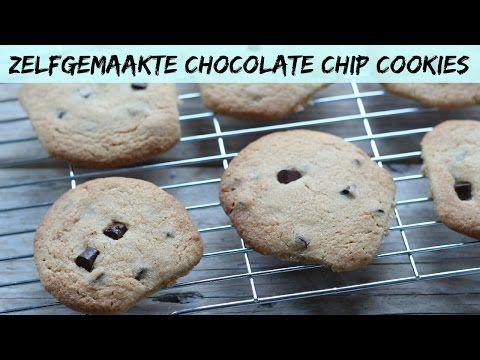Zelfgemaakte chocolate chip cookies (+video) - Lekker en Simpel