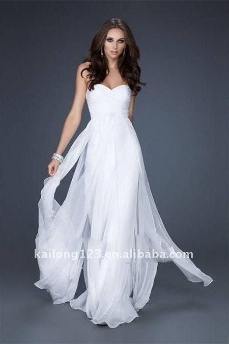 588474cefdfea Awesome White flowy dress 2018-2019 | random | Wedding dresses ...