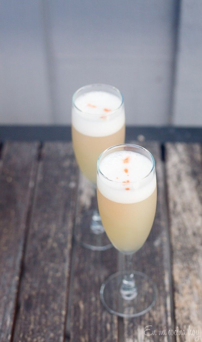 Rosemary Pisco Sour. Refreshing and new alternative for a fall drink.